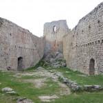 Montségur les ruines