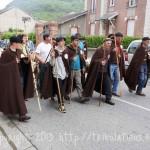 La foire à Tarascon avec son défilé, les bergers