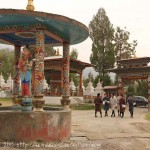 Bhoutan : Temple de Zang Petri : Etudiants