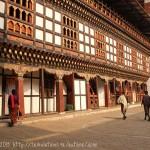 Bhoutan et le temple de Dzong de Trashigang