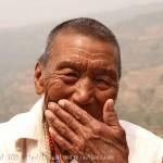 TEMPLE DE RANGJUNG : Nonne de 90 ans