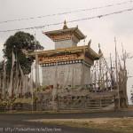 Stupa au Col de Kori-La 2450 m