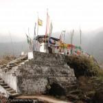 Stupa sur la route de Trashigang
