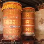 Roue à Prière dans le monastère de Jampel Lhakhang