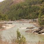La rivière Chamkhar Chu