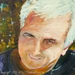 Peinture à l'huile : Marc