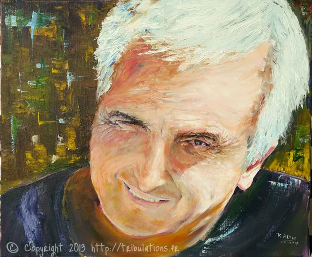 Marc - Portrait - huile