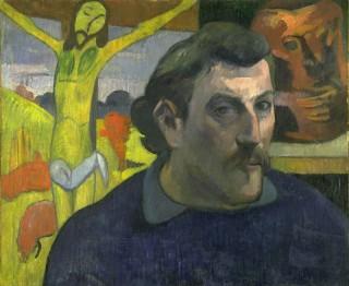 Autoportrait du Christ jaune, Gauguin