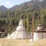 Quelques rencontres sur la route de Tronsga à Punakha