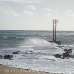 L'endroit est particulièrement dangereux en cas de grand vent ou de forte marée.