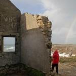 La côte sauvage - Ruine à la pointe du Percho