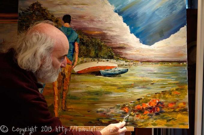 Peintures : Le sentier côtier