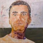 Tableau de Christophe - huile sur toile 80x80 cm