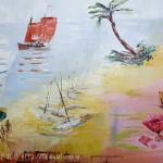 Petite saynète : la plage