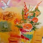 Saynète : le pot de fleurs