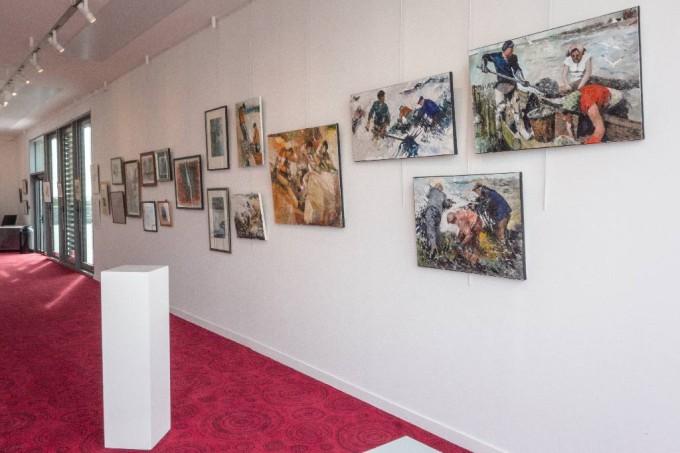 Exposition Alain Coste Galerie Grain de Sel