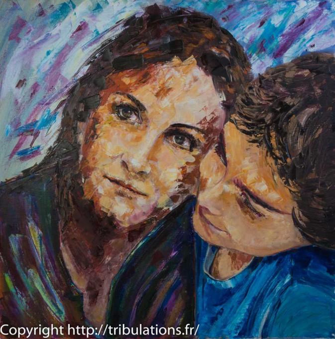Portrait : La mère et l'enfant