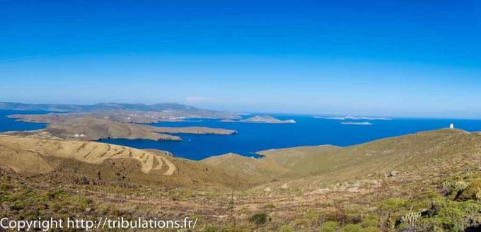 Astypalea : Partie Est de l'île