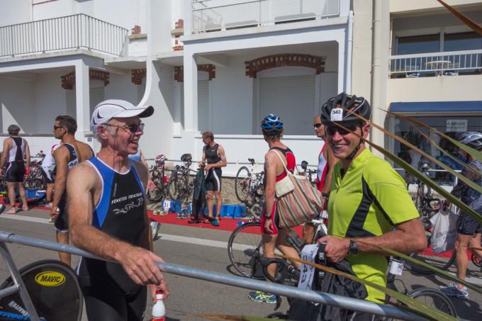 Triathlon de Quiberon au départ