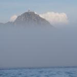 Au sortir de la brume, les îles Cies
