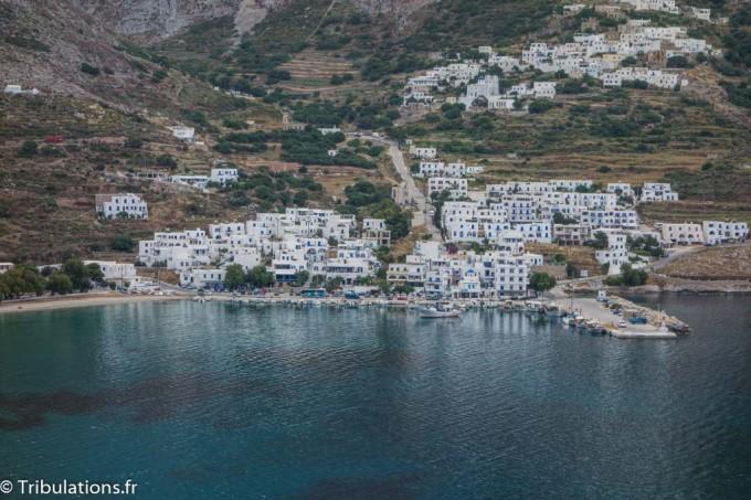 Amorgos : Baie d'Aigiali