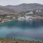 Descente vers la baie depuis Tholaria