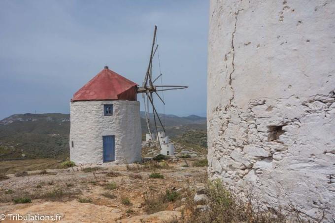 Les ruines des onze moulins à vent