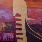 Détails : Soleil rouge à Venise