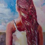 Détails : Fille aux cheveux roux