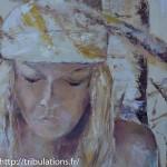 Détail du tableau : Femme née de la nature