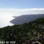 Les pointes sud de l'île