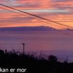 Lever de soleil à El pinar
