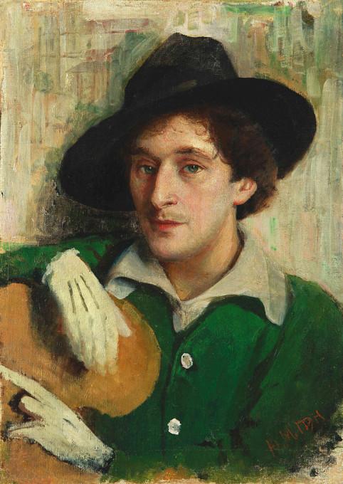 Portrait de Chagall par Iouri Pen