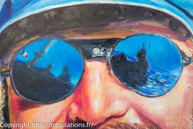 Reflets dans les lunettes de soleil