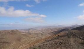 paysage pelé de Fuerteventura