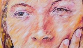 L'Alliance, huile sur toile 65x46 cm