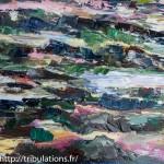 Détail : Reflets et couleurs sur l'estran