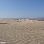 Dunes de Maspalomas entourées d'installations touristiques