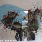 Le cactus de César Manrique