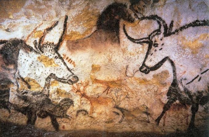 Mouvement et Peintures rupestres