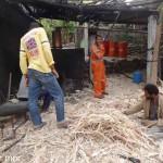 3-Préparation des fibres pour le feu