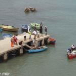 Cale de débarquement du poisson