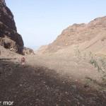 Début de la montée vers le Monte Gordo