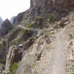 Le sentier vers Fragata