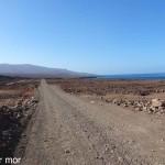 paysage rocailleux au sud de Tarafal