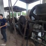 La broyeuse électrique et a vapeur