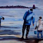 Tabeau : A marée descendante