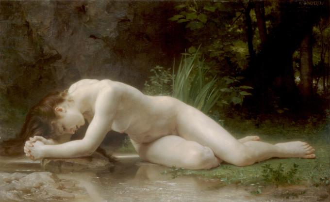 Scènes : Byblis par von William-Adolphe Bouguereau (1884).