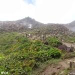Une-petite-éclaircie sur le sommet de la Soufrière