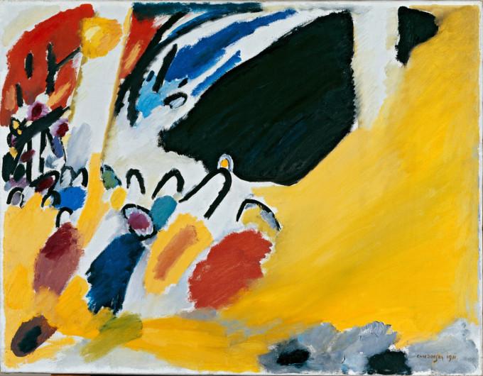 Impression III (Concert) - Wassily Kandinsky - 1911